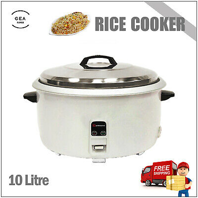 10L Kitchen Electric Automatic Non Stick Rice Warmer Cooker Cook Pot Warm 3000W