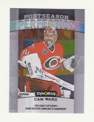2018-19 UD Synergy Cam Ward Postseason Perfection Card # PS-12 (18-19)
