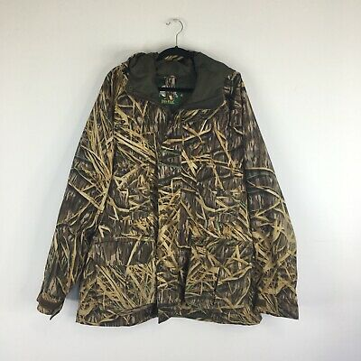 5bd3e454260bb Cabelas Outdoor Gear Mens Jacket Size XL X-Large Dry Plus Camo Hoodie  Hunting
