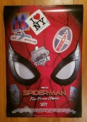 SPIDER-MAN FAR FROM HOME 2019 27x40 Original Movie Poster 1Sh Double-Sided BONUS