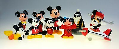 Disney Mickey Mouse Junk Drawer Lot of 10 Miniature Figurine