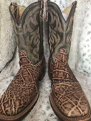 1e3b5196dd3 MEN'S DOUBLE-H USA DH3567 Steel Square Toe Saddle Western Boots 11 ...