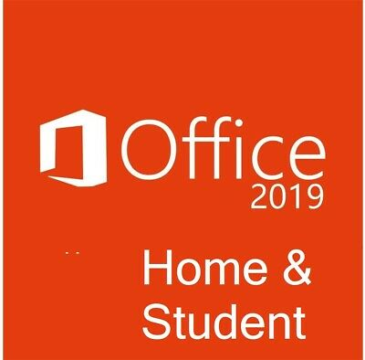 Office 2019 Home and Student - Mulitlingual - Vollversion  - NEU - SALE