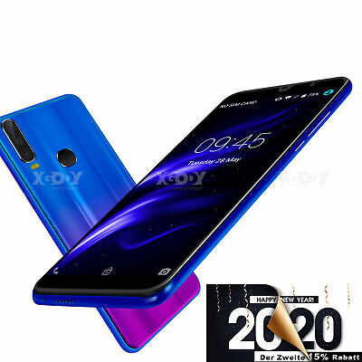 "Cheap Unlocked 6.0"" Android 8.1 Smart Mobile Quad Core Dual SIM 2019 A70 Phone"
