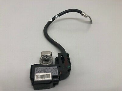 BMW 5 Series E60 525d Battery cable negative IBS Negative Pole Battery Wiring OE