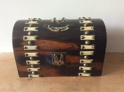 Antique Victorian Coromandel Stationery Box.