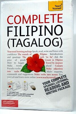 Complete Filipino (Tagalog) with Two Audio CD and 400 page Book
