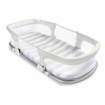 SwaddleMe By Your Side Sleeper bed for baby pad gray set portable