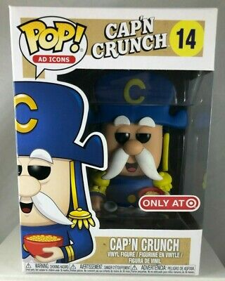Cap'n Crunch #14 Ad Icons Funko Pop Target Exclusive Captain