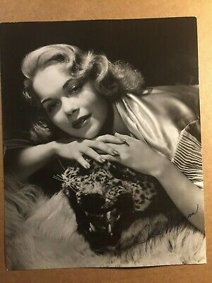 Jane Wyman Rare Early Vintage Autographed Pin Up 7/9 Photo 40s Original Hurrell