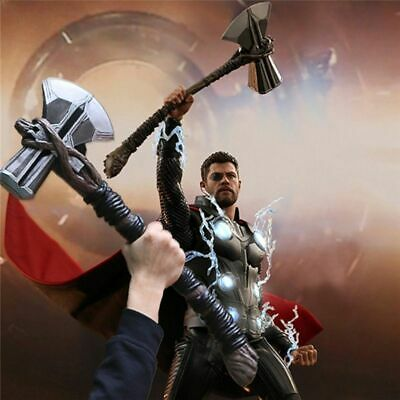 73cm Cosplay Weapons Thor Axe Hammer Thor Stormbreaker Movie Role Playing Model
