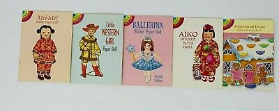 VINTAGE UNCUT 1942 RAGGEDY ANN PAPER DOLLS ~SAALFIELD~ORG SZ~LASER REPRODUCTION