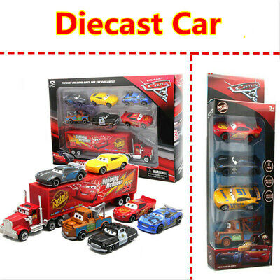 Disney Pixar Cars 3 Lightning McQueen Diecast Car Collection Set Toy B-day Gift