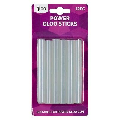 NEW Gloo High Temperature Large Glue Sticks By Spotlight