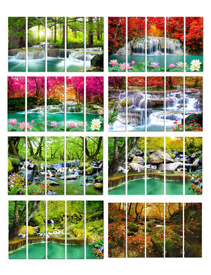 Waterfall Landscape Picture Wall Art Print Painting Canvas Living Room Deco Gift