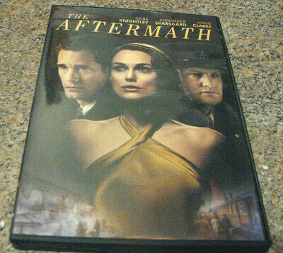 The Aftermath (Dvd, 2019) Brand New With Keira Knightley`with 1St Class Shiping