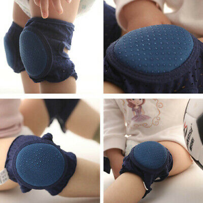 2 Pair NEW Baby Crawling Knee Pads Safety Anti-slip Walking Leg Elbow Protector