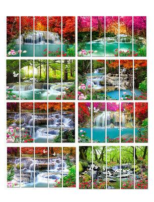 Waterfall Landscape Picture Wall Art Gift Print Painting Canvas Living Room Deco