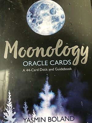 Moonology Oracle Card Deck Yasmin Boland 44 cards Brand New in wrap  Aus seller!