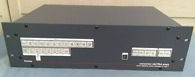 Extron Crosspoint Ultra Series Ultra Wideband Matrix Switcher with ADSP