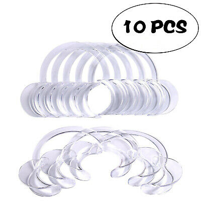 10 Piece Dental Cheek and Lip Retractor Mouth Opener Medium for Party Games