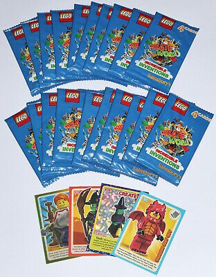 Lego Create The World Trading Cards - 20 Sealed Packs