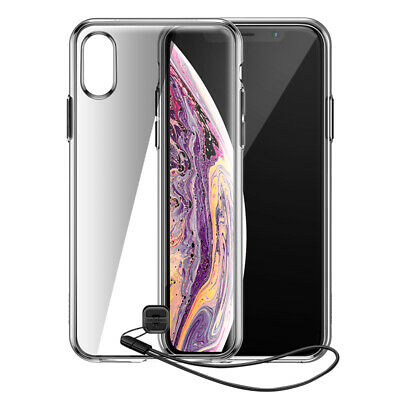 BASEUS TPU + PC Back Phone Case with Hanging Rope for iPhone XS/X 5.8 inch