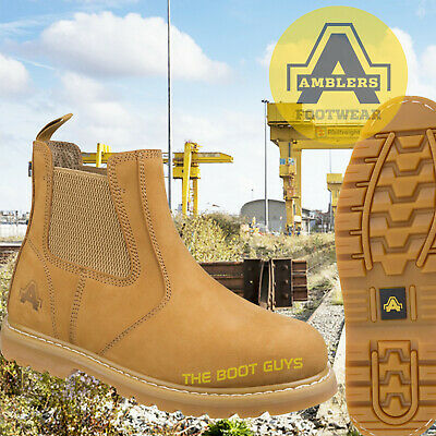 9035088a68d AMBLERS BROWN DEALER Safety Boots Sizes 4 -13 FS165 Work Boots Brown ...