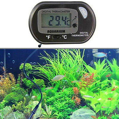LCD Thermometer Water Meter Aquarium Fridge Freezer Digital Reptile Fish Tank