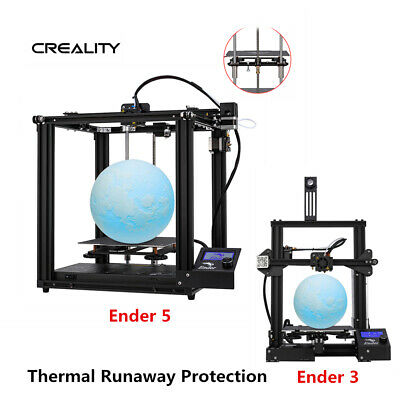Newest Creality Ender 3/Ender 3 Pro/Ender 5 3D Printer DC 24V 1.75mm PLA 2019