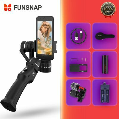 Funsnap Capture 3 Axis Handheld Gimbal Stabilizer For Iphone 6 7 8 Plus GoPro 6