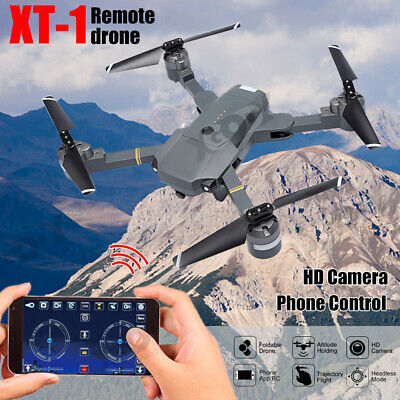 XT-1 RC Drone w/Camera Air Pressure Altitude Hold 2.4GHz 4CH 6 Axis Quadcopter