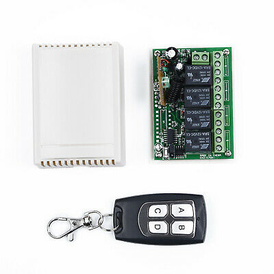 Auto Door Remote Controller Switch DC 12V For Fate Garage Opener Transmitter
