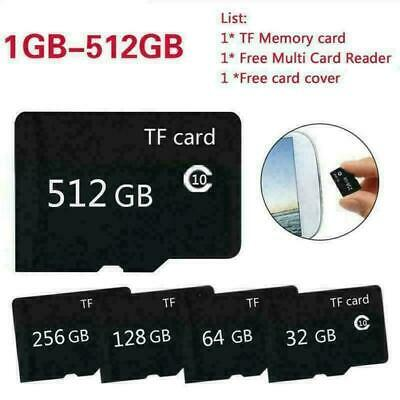 80MB/s micro SD Class10 Memory Mikro SD Karte TF Card of 16 32 64 128 256 512GB