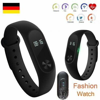 Smart Wristband Watch Heart Rate Monitor Water Resistance Fitness Pedometer