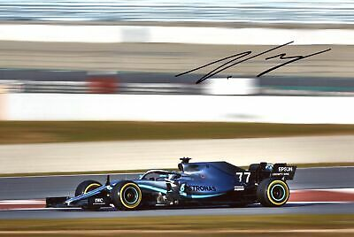 MERCEDES Valtteri Bottas MONACO 2019 autograph, IP signed photo
