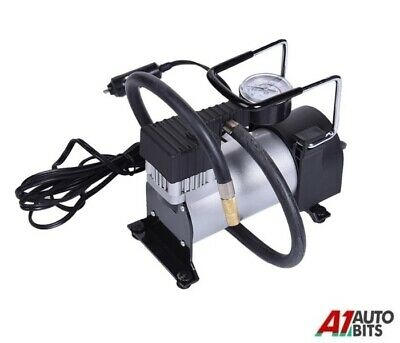 12v 100 PSI Heavy Duty Car Air Compressor Tyre Deflator Portable Inflator Pump