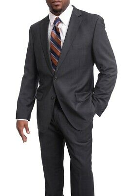 98e61c67ed6ff8 LUCIANO NATAZZI Italian Mens Suit 180S Cashmere Wool Ticket Pocket. $379.95  Buy It Now 9d 8h. See Details. Men's Arthur Black Classic Fit Solid Gray  Two ...