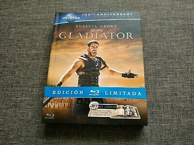 BLURAY GLADIATOR - Edicion limitada - russell crowe - ridley scott - booklet