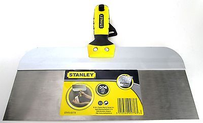 Stainless Steel Taping Knife with Bi-Material Handle Stanley12 Inch STHT0-05776