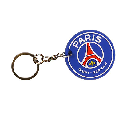 Paris Saint Germain Football Club - PSG Keyring Keychain - Official Merchandise