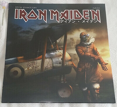 Iron Maiden Beast Over Reading Vol 1 + Vol 2 New Sealed Last Copies