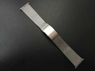 """Strap Milanese Watch Diver-Racing 22mm Steel """" New Old Stock"""