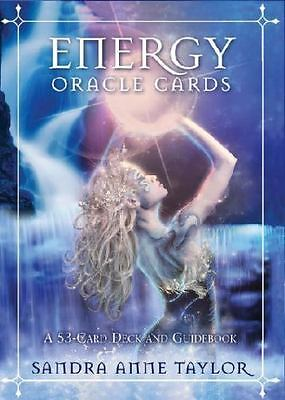 BRAND NEW~Energy Oracle Cards  A 53-Card Deck +Guidebook by Sandra Anne Taylor