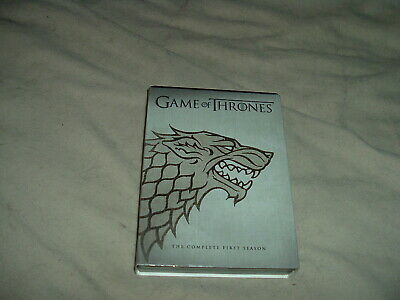 Game of Thrones the Complete First Season DVD 1 ONE HBO TV with Slipcover