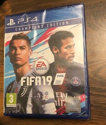 Fifa 19 Champions Edition PS4 Brand New -Sealed -