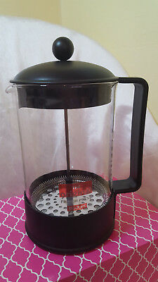 French Press Coffee Maker Cafetiere Stainless Steel and Durable Glass  Cafe