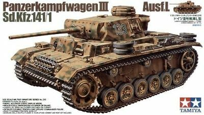 German Pz.Kpfw III Ausf.L - 1/35 Military Model Kit - Tamiya 35215