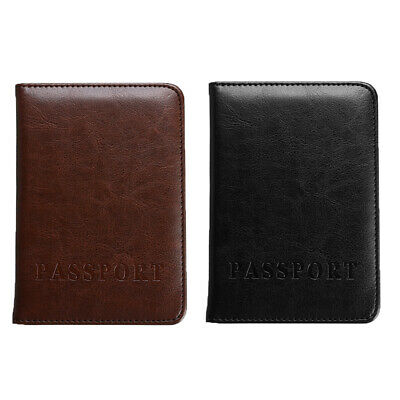 Travel Passport Holder ID Card Case Cover Credit Organizer Protector Women Men