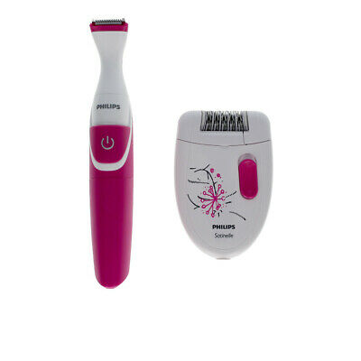 Cosmética Philips mujer SATINELLE ESSENTIAL HP6548/01 LOTE 3 pz